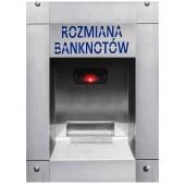 Rozmieniarka banknotów dla myjni (wodoodporna)
