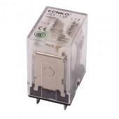 Przekaźnik 12VDC 10A 2xNO/NC bez podstawki