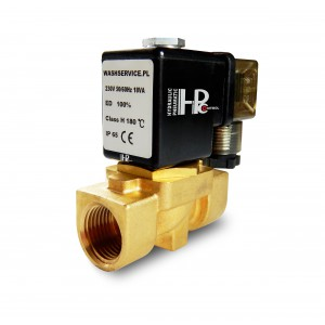 Elektrozawór 2N10 3/8 cala VITON 230V lub 12V 24V