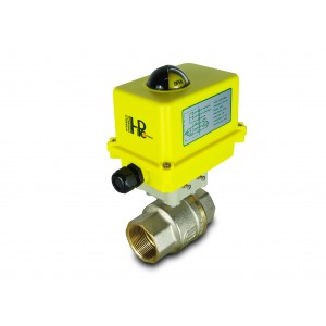 Elektrozawór kulowy 1 1/2 cala DN40 siłownik A250
