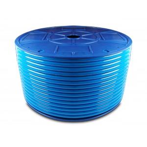 Przewód wąż pneumatyczny poliuretanowy PU 6/4 mm 200mb niebieski