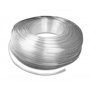 Przewód wąż pneumatyczny poliuretanowy PU 6/4 mm 100mb transp