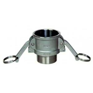 Złącze Camlock - typ B 1 1/2 cala DN40 SS316