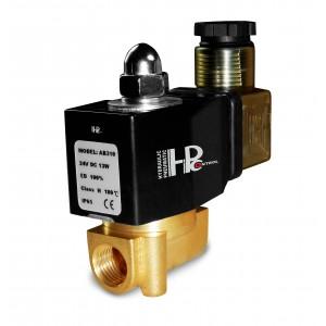 Elektrozawór 2N08 Viton 1/4 cala 230V lub 24V, 12V - odporny na chemię