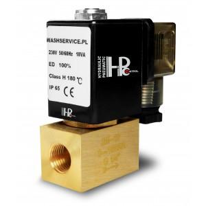 Elektrozawór 2M08 1/4 cala 0-16bar 230V 24V 12V