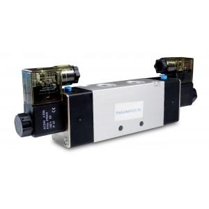 Elektrozawór 5/2 bistabilny 1/2 cala 4V420 siłowników 230V lub 12V, 24V