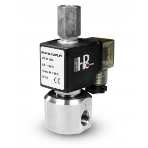 Elektrozawór RM23-02 trójdrogowy 3 x 1/4 cala