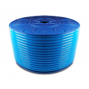 Przewód wąż pneumatyczny poliuretanowy PU 6/4 mm 1mb niebieski