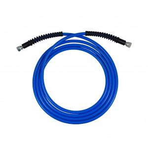 Przewód ciśnieniowy Ultra Lekki wąż 1/4 cala 4 metry niebieski 330bar myjnia