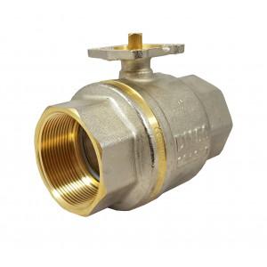 Zawór kulowy 1 1/2 cala DN40 PN25 pod siłownik ISO5211